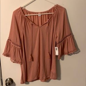 NWT Old Navy quarter sleeve top